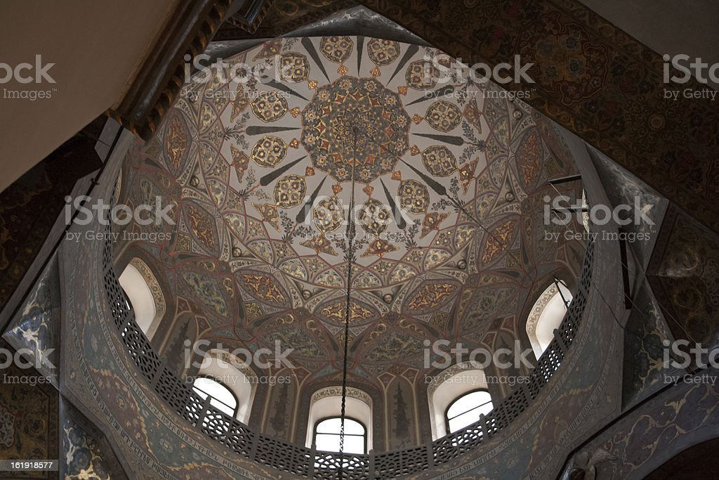Ceiling Of Etchmiadzin Cathedral royalty-free stock photo