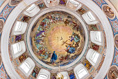 Ceiling painting in the Orthodox Church