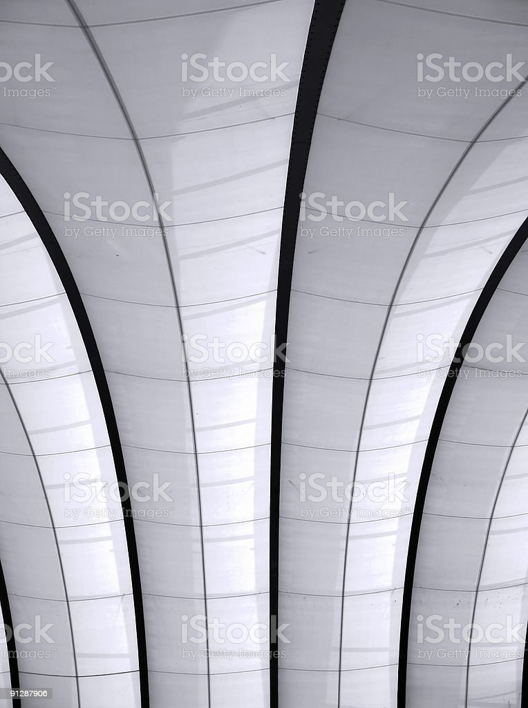 Ceiling Pattern stock photo