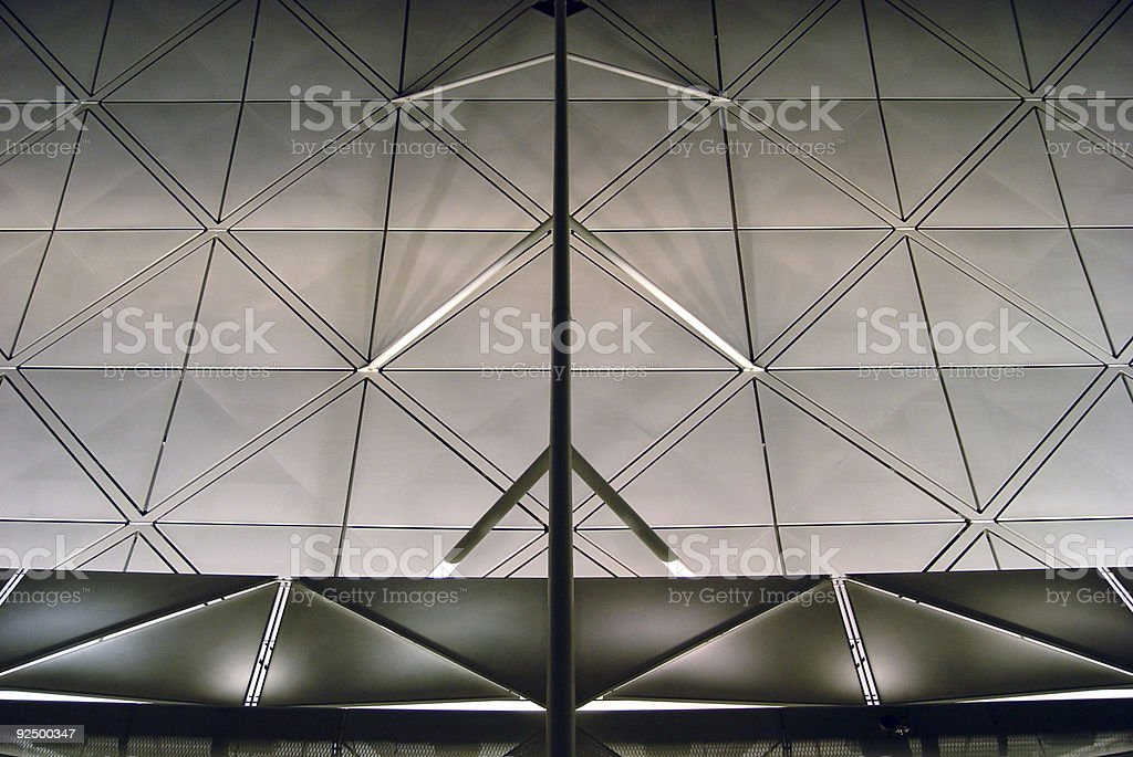 Ceiling royalty-free stock photo