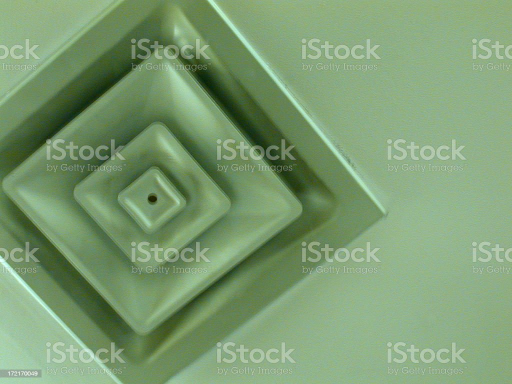 Ceiling Vent 1 stock photo