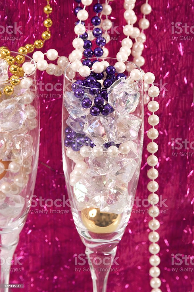 Celebrate in the Pink & Purple royalty-free stock photo