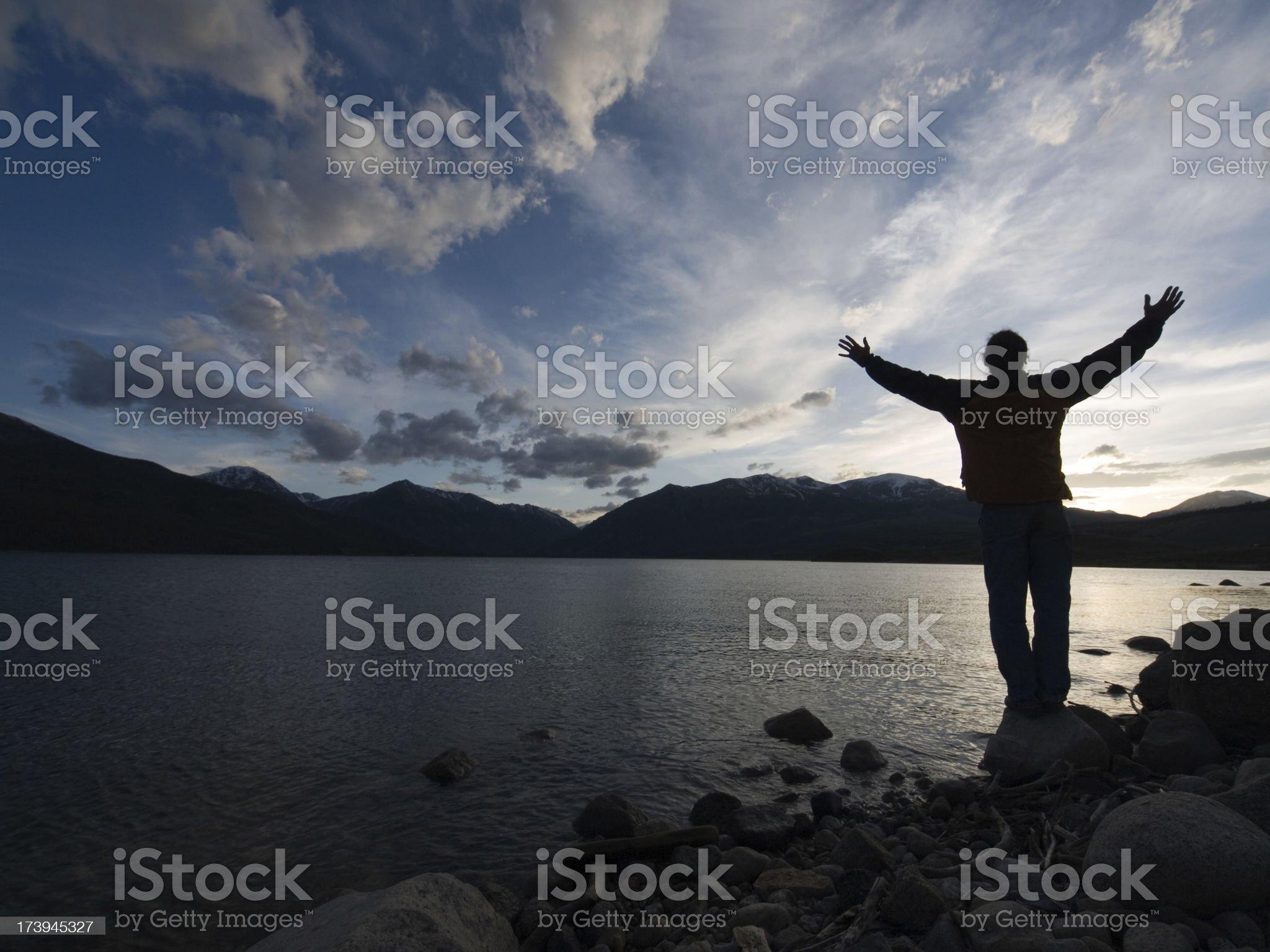 celebrate life royalty-free stock photo