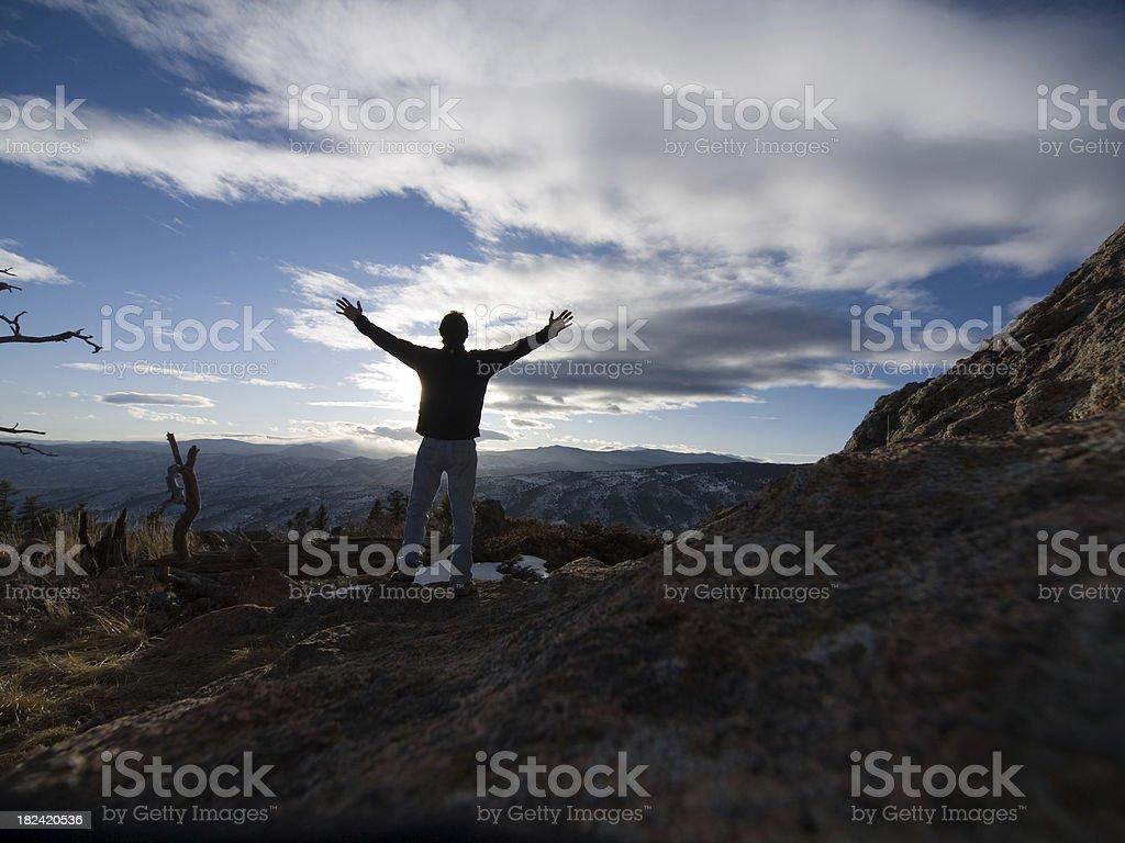 Celebrate Life stock photo