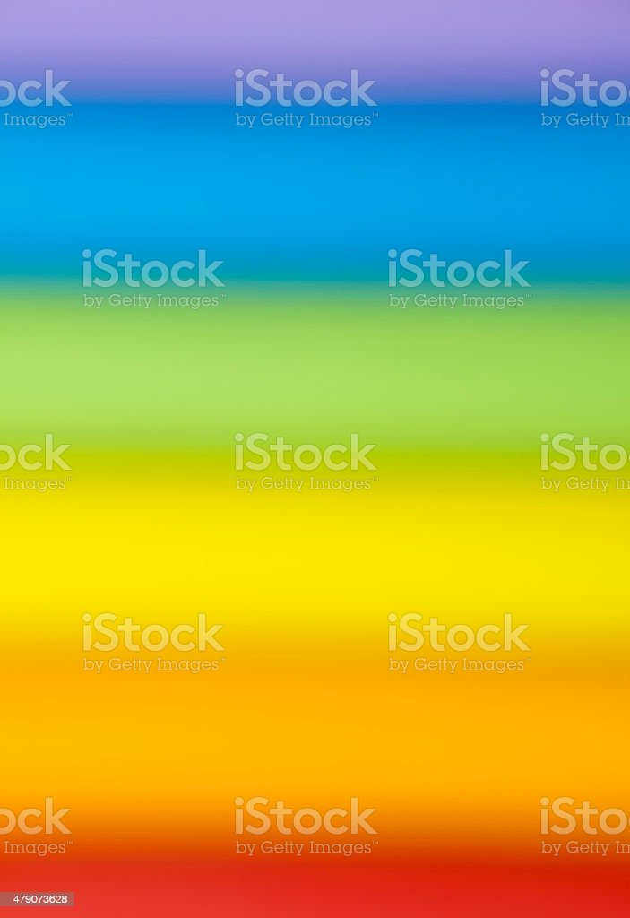 celebrate pride in rainbow color symbol stock photo