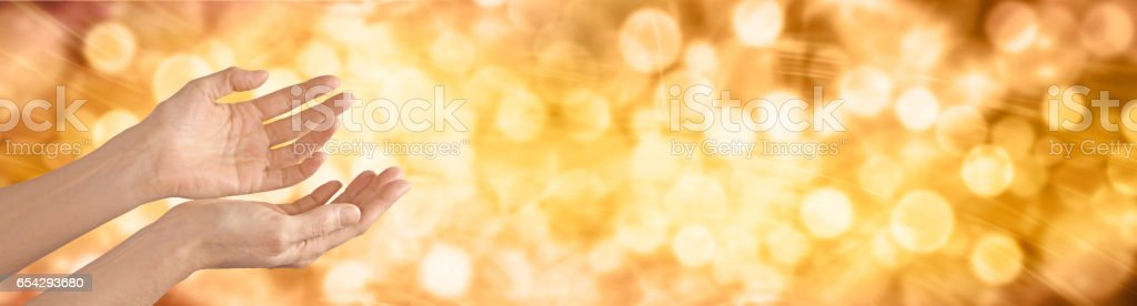 Celebrate Thanksgiving Banner stock photo