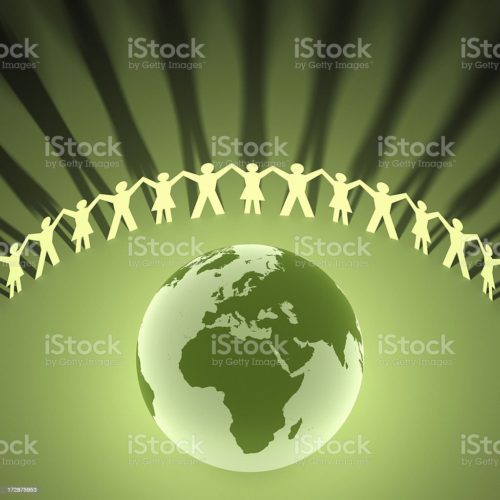 Celebrate the World (Europe and Africa) XXL royalty-free stock photo