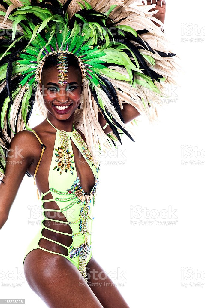 Celebrate with me this carnival. stock photo