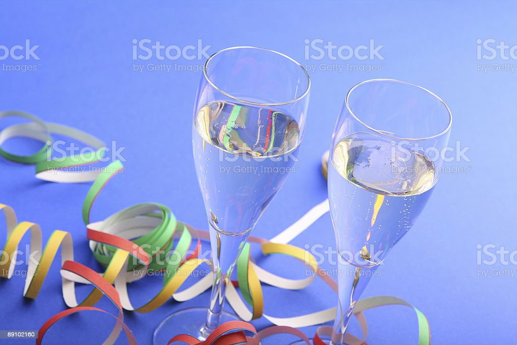 Celebrate with Wine and Fun royalty-free stock photo