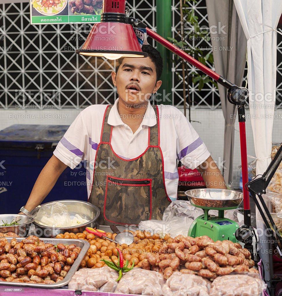 Celebrating Chinese New Year in Chinatown, Bangkok. royalty-free stock photo
