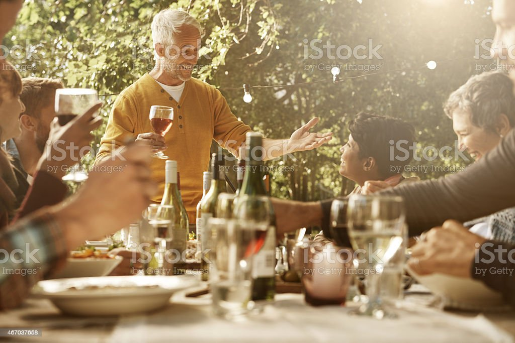 Celebrating community stock photo