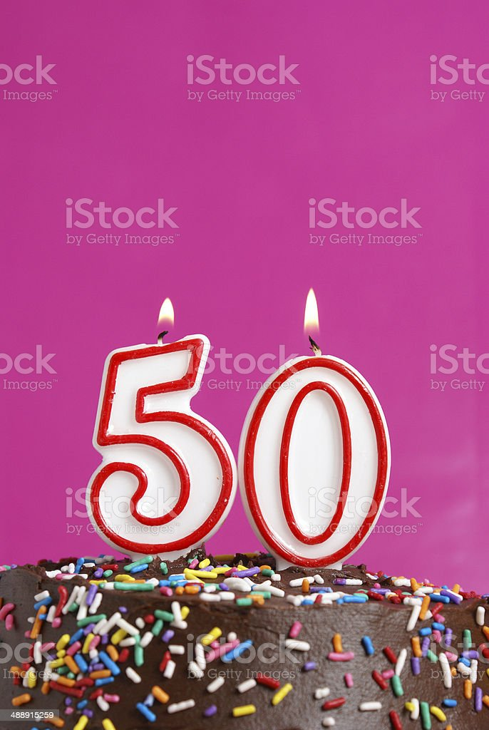 Celebrating Fifty Years stock photo
