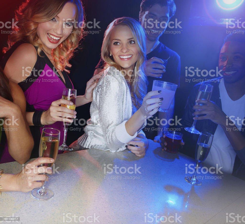Celebrating life royalty-free stock photo