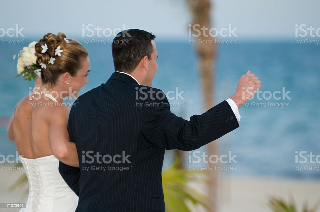 Celebrating Marriage stock photo