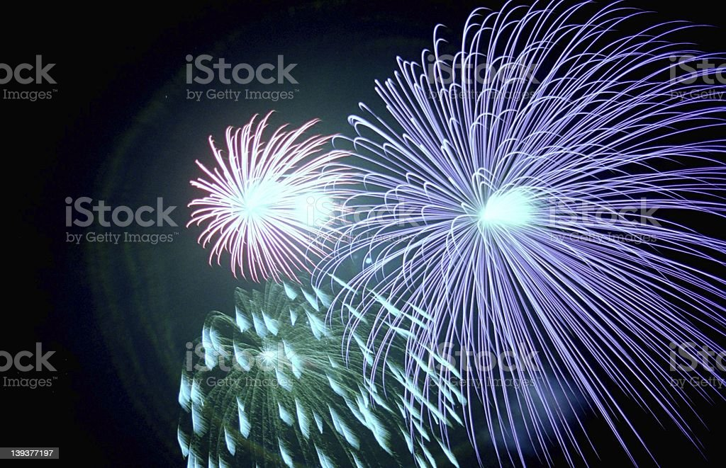 Celebrating Old Glory - 1 royalty-free stock photo