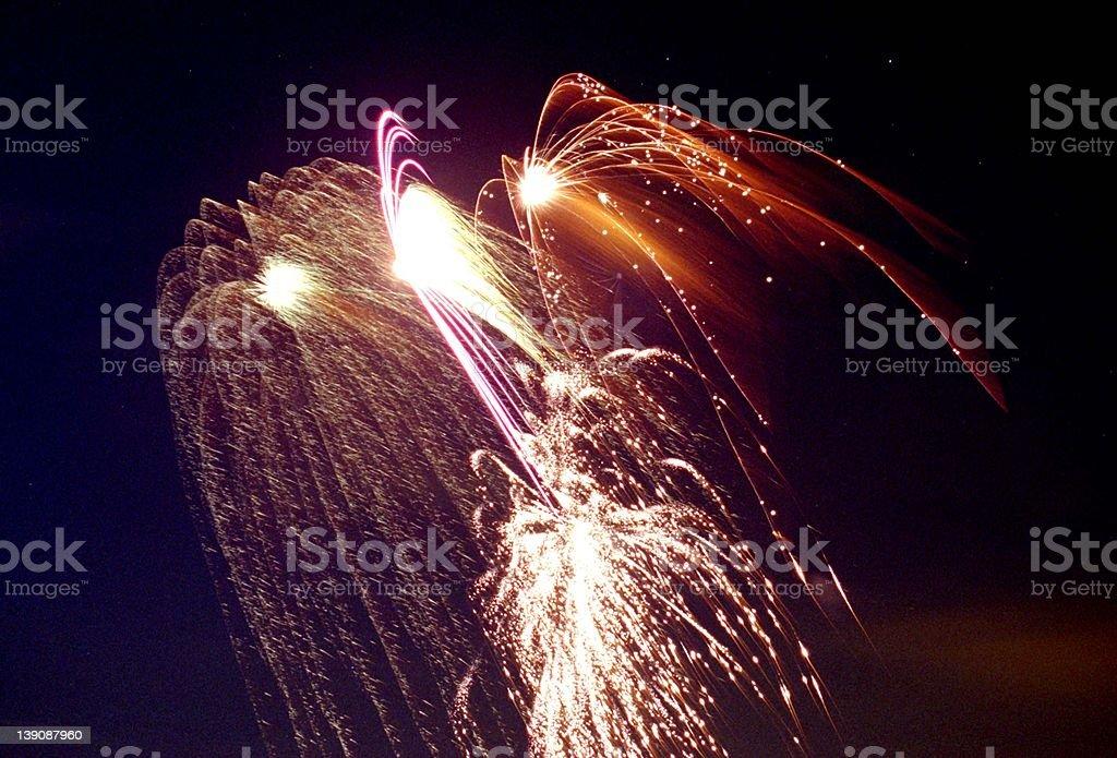 Celebrating Old Glory - 3 royalty-free stock photo