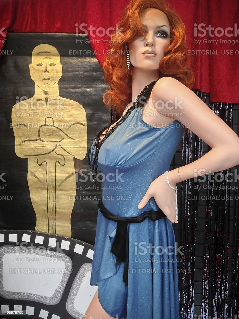 Celebrating Oscars in Toronto royalty-free stock photo