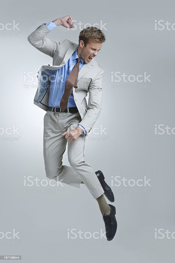 Celebrating success stock photo