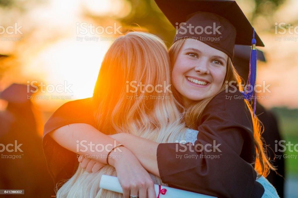 Celebrating Together stock photo