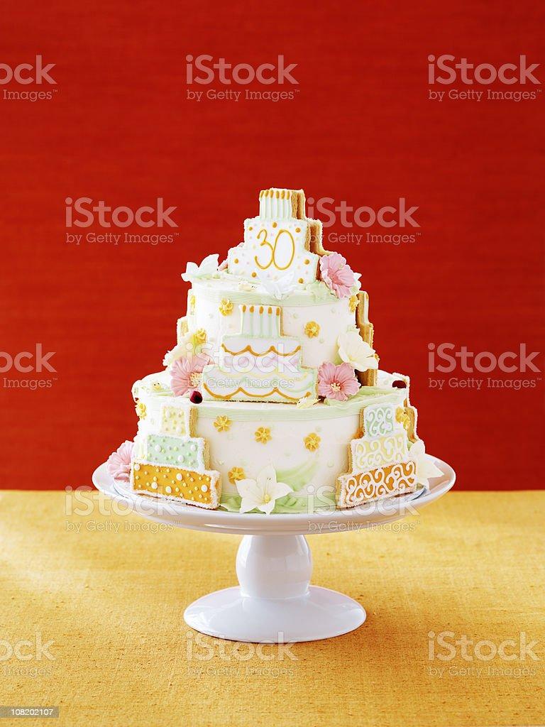Celebration Cake royalty-free stock photo