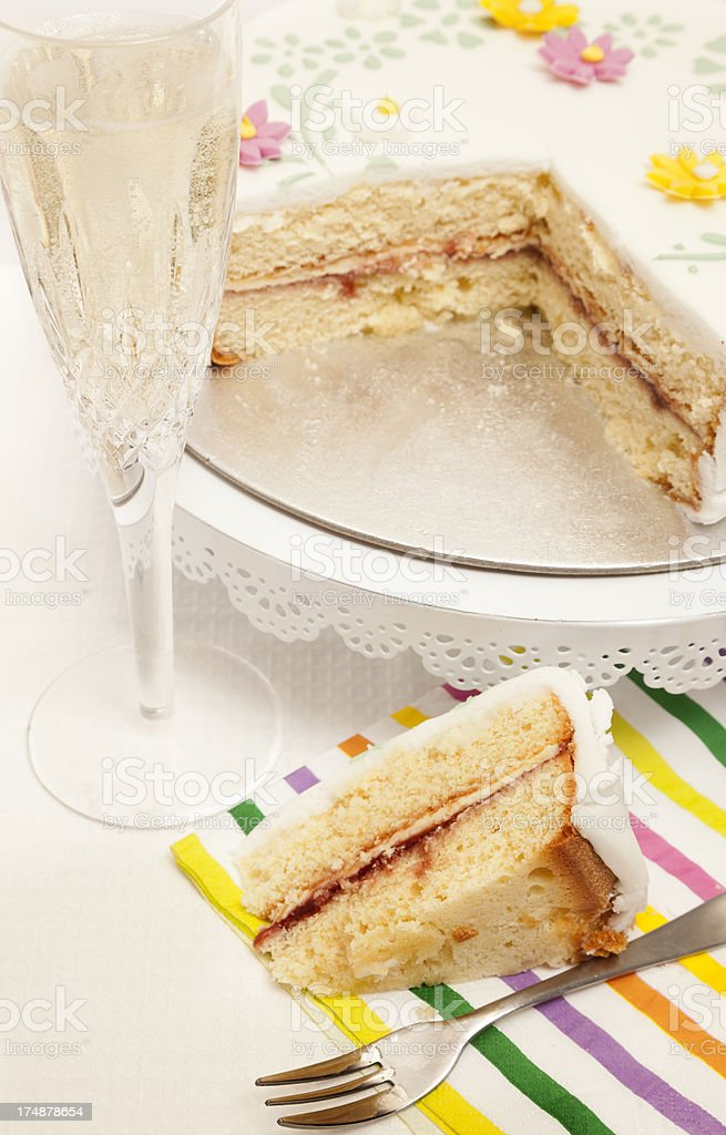 Celebration Cake royalty-free stock photo