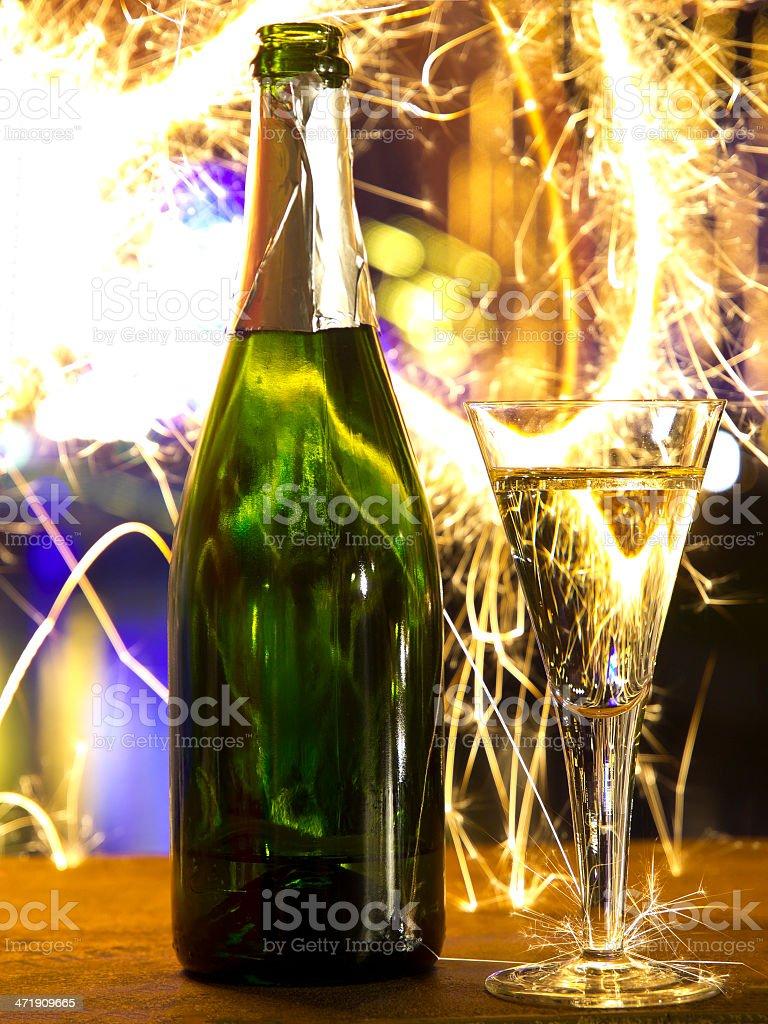 Celebration champagne royalty-free stock photo