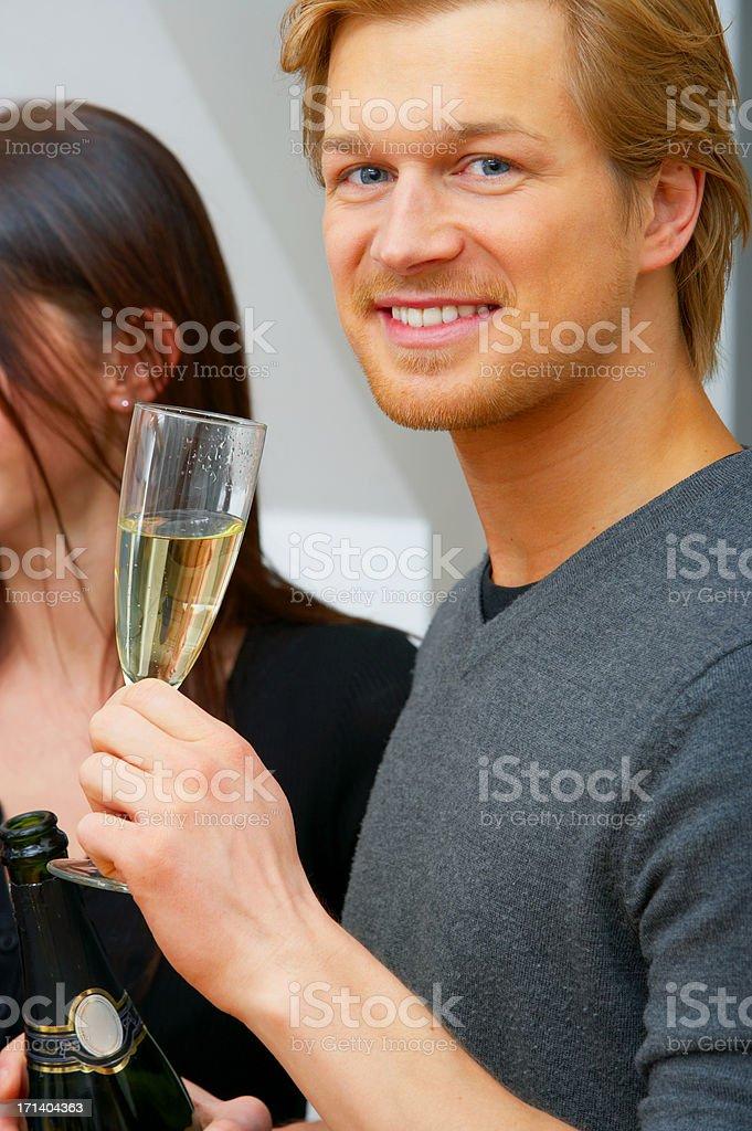Celebration Drinks royalty-free stock photo