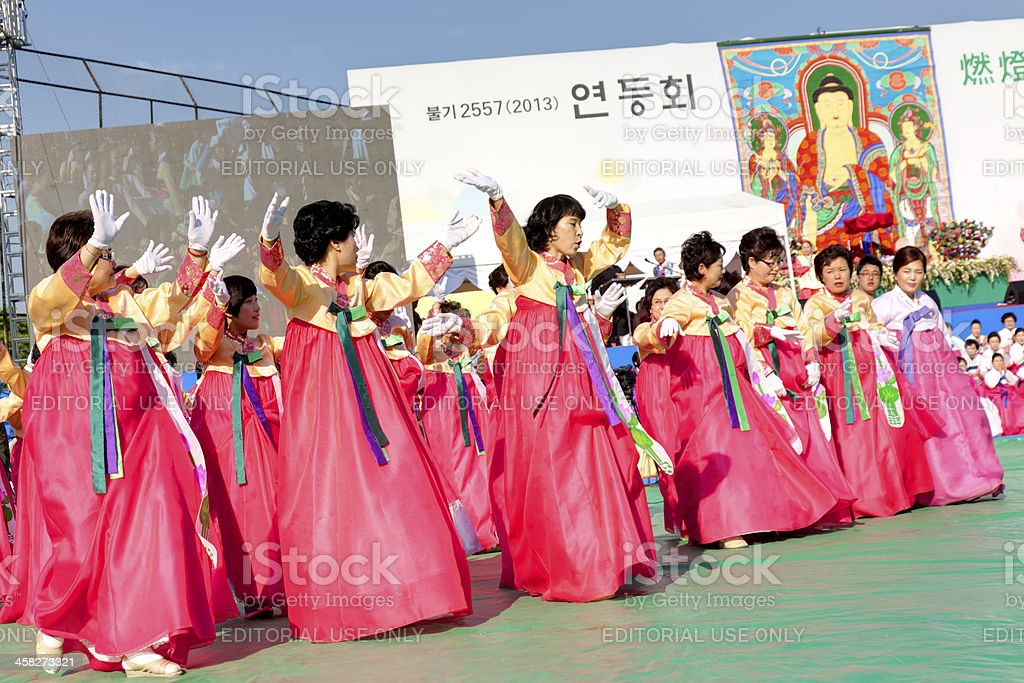 celebration for Lighting lantern festival royalty-free stock photo