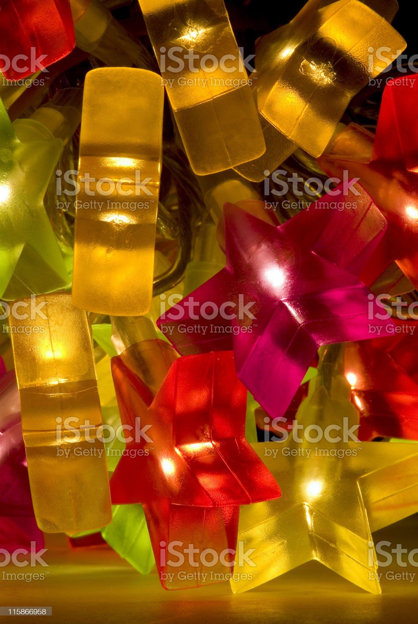 Celebration lights royalty-free stock photo
