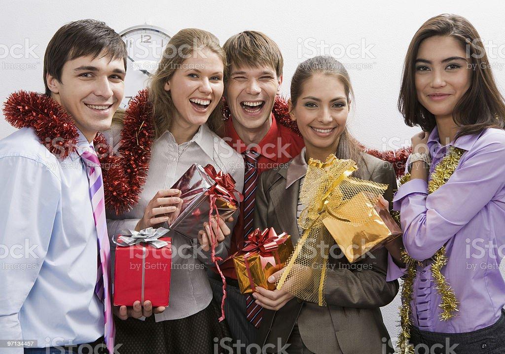 Celebration of holiday stock photo