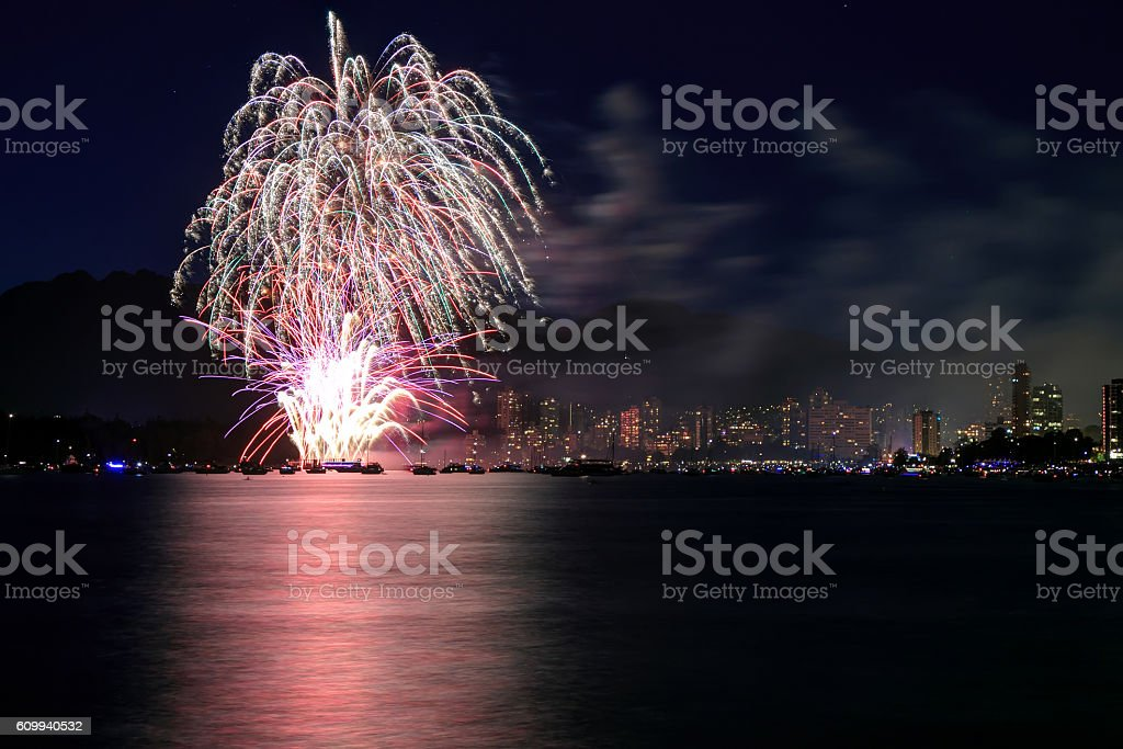 Celebration of Light stock photo