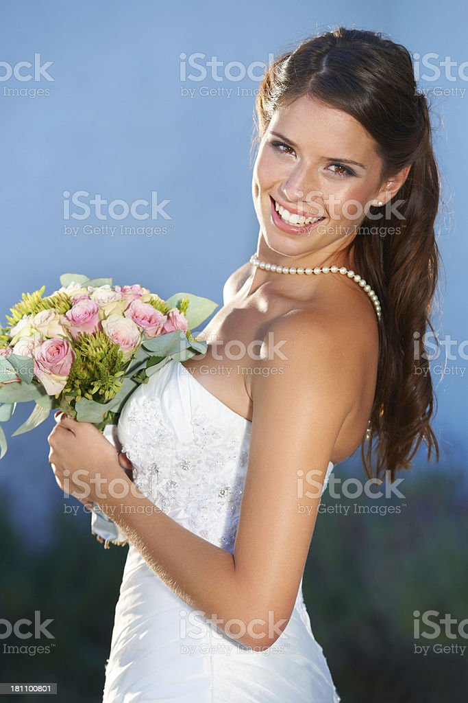 Celebration of love royalty-free stock photo