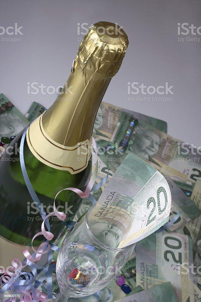 Celebration Of Profit stock photo