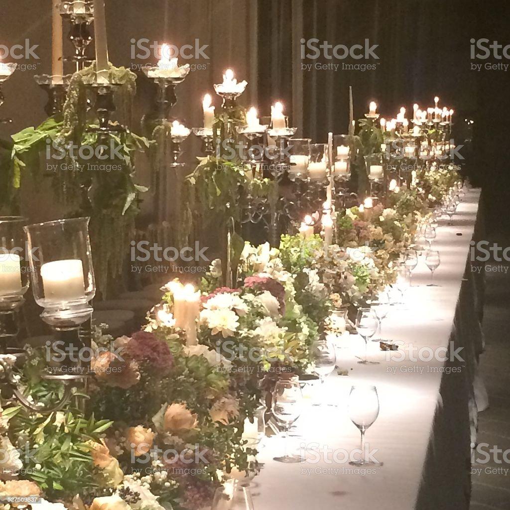 Celebração de mesa foto royalty-free