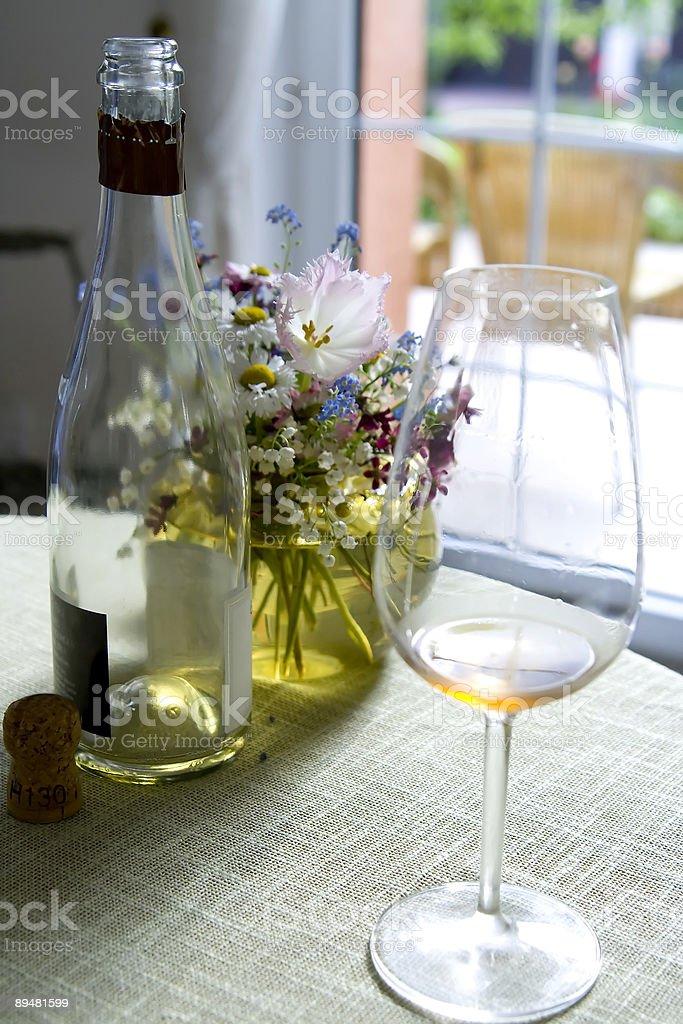 Celebration with champagne toast stock photo