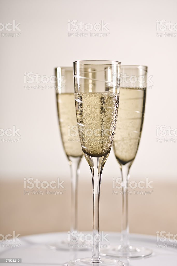 Celebrations champagne parties New Year success royalty-free stock photo