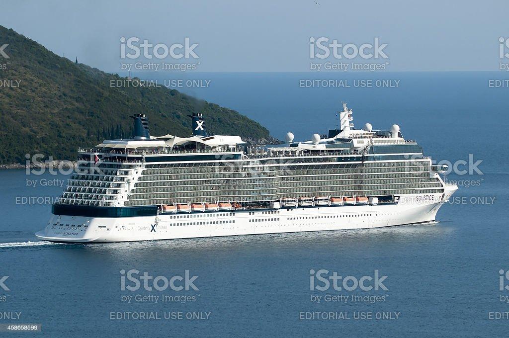 Celebrity Cruises - Solstice royalty-free stock photo