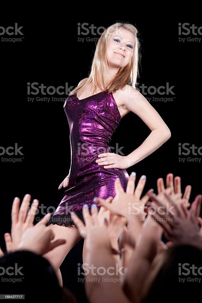 Celebrity royalty-free stock photo