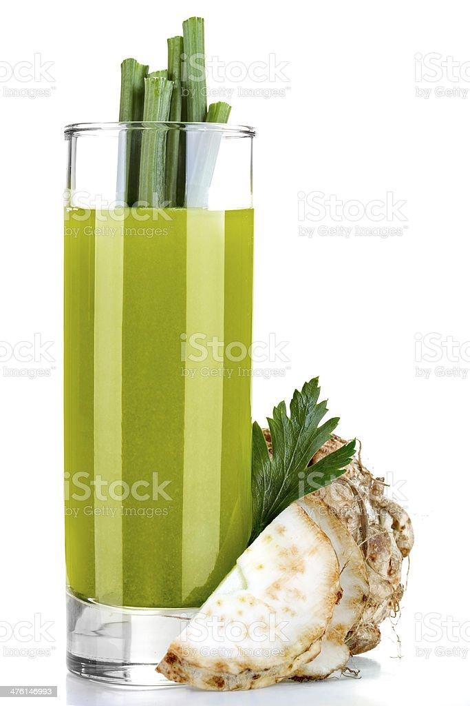 celery juice royalty-free stock photo