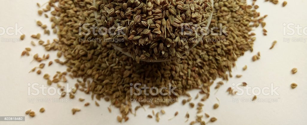 Celery Seeds stock photo