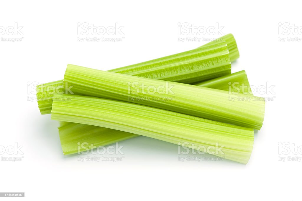 Celery Stalks stock photo