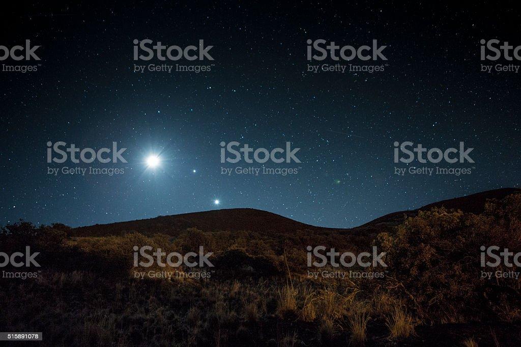Celestial Bodies stock photo