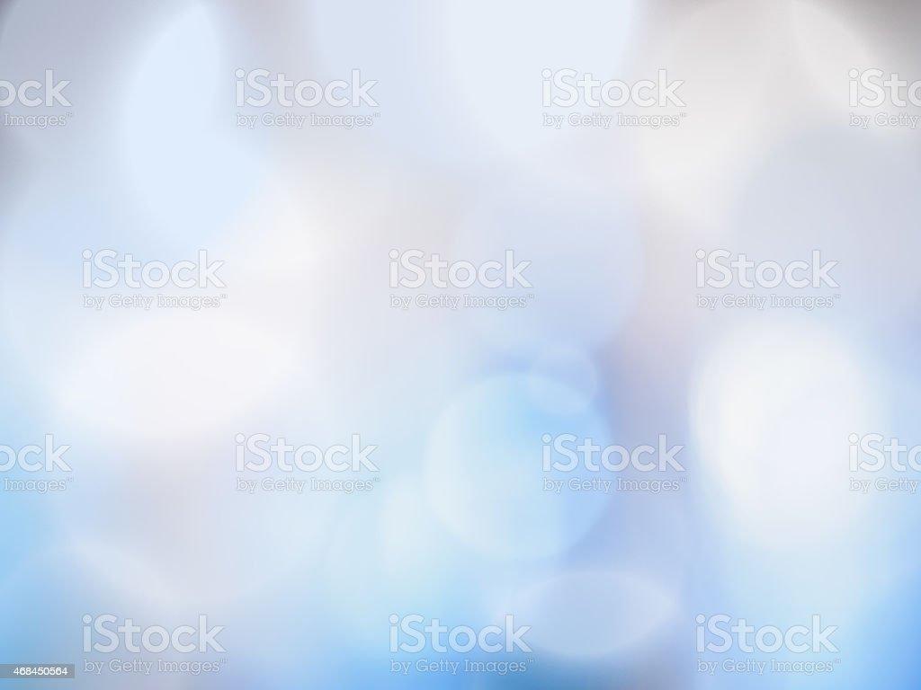 Celestial luz de fundo de bokeh (desfoque de fundo) vetor e ilustração royalty-free royalty-free