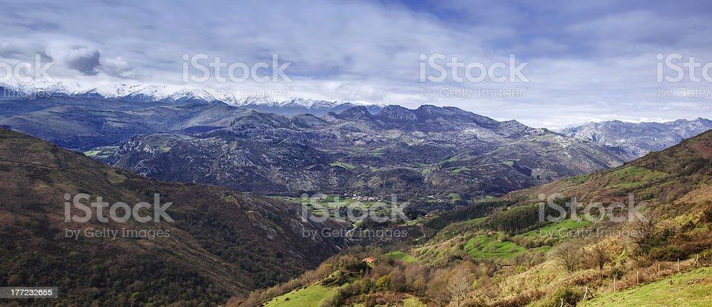 Celis viewpoint panorama stock photo