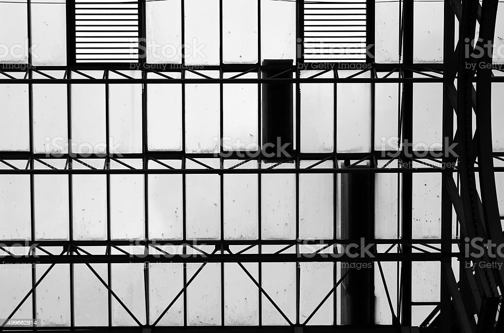 Cell and windows stock photo