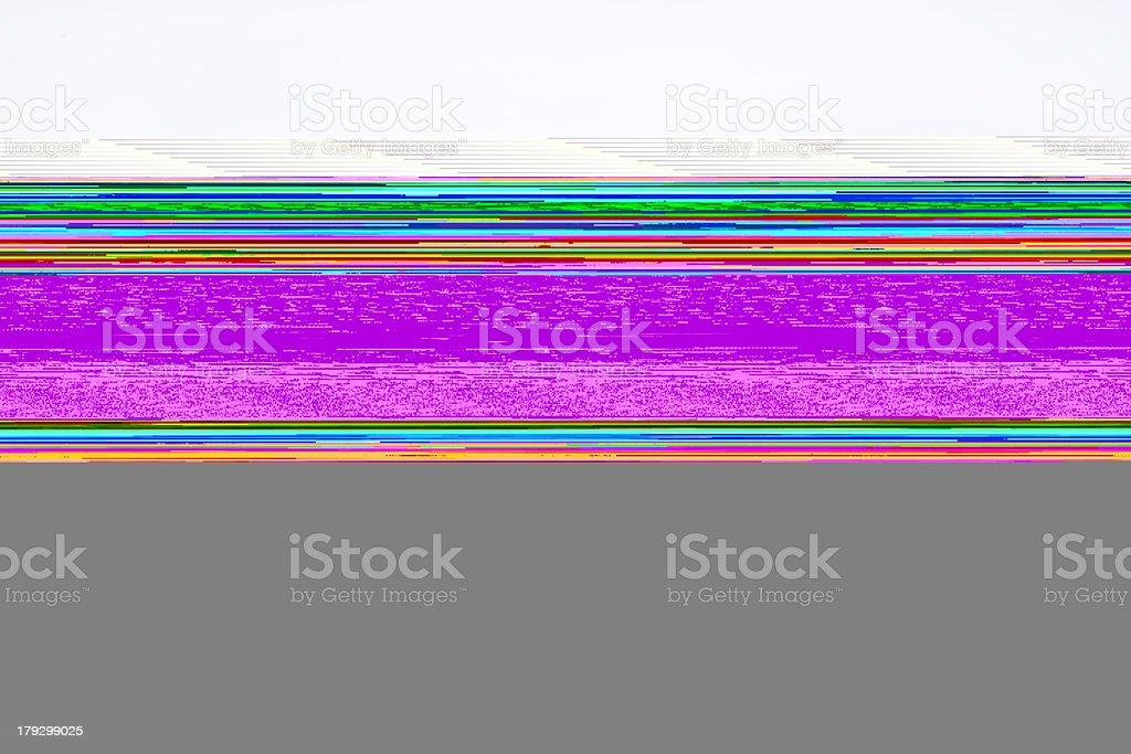 Cell block stock photo