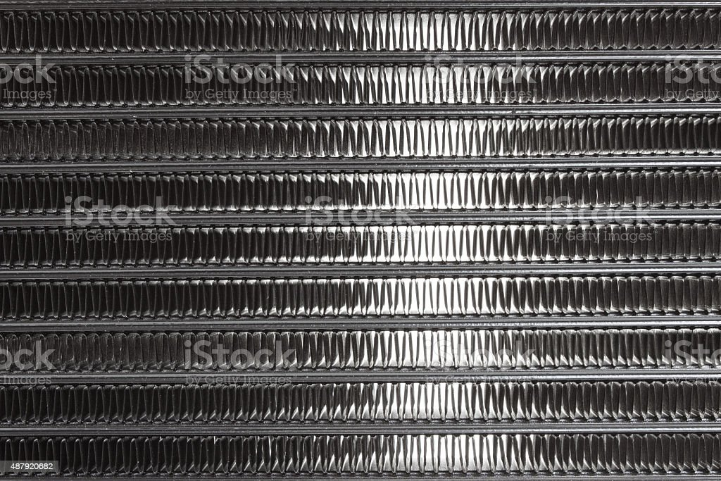 cell car radiator close stock photo