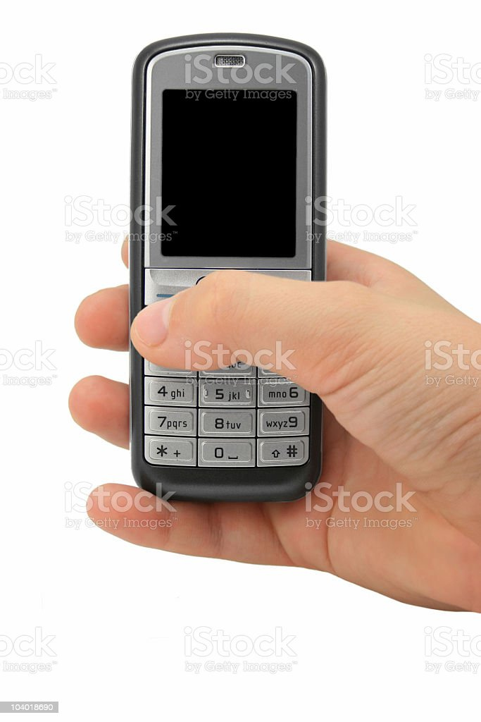 Cell phone 2 royalty-free stock photo