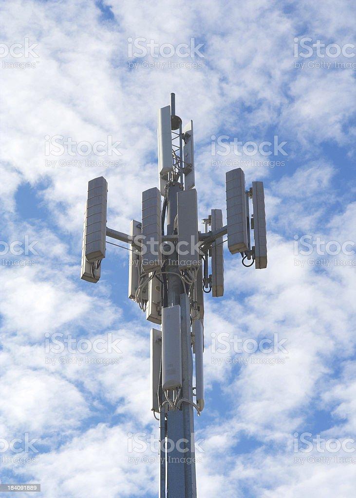 Cell Phone Antenna stock photo