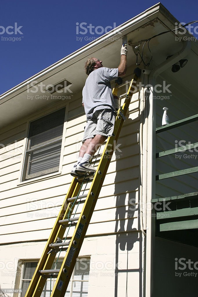 Handy Man royalty-free stock photo